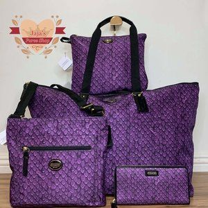 💜Coach Signature Nylon Set💜